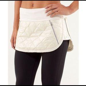 Lululemon running skirt. Size 2
